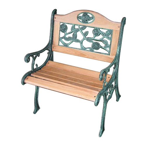 Cheap Wood/Cast Iron Garden Chair For Sale, Best Wooden ...