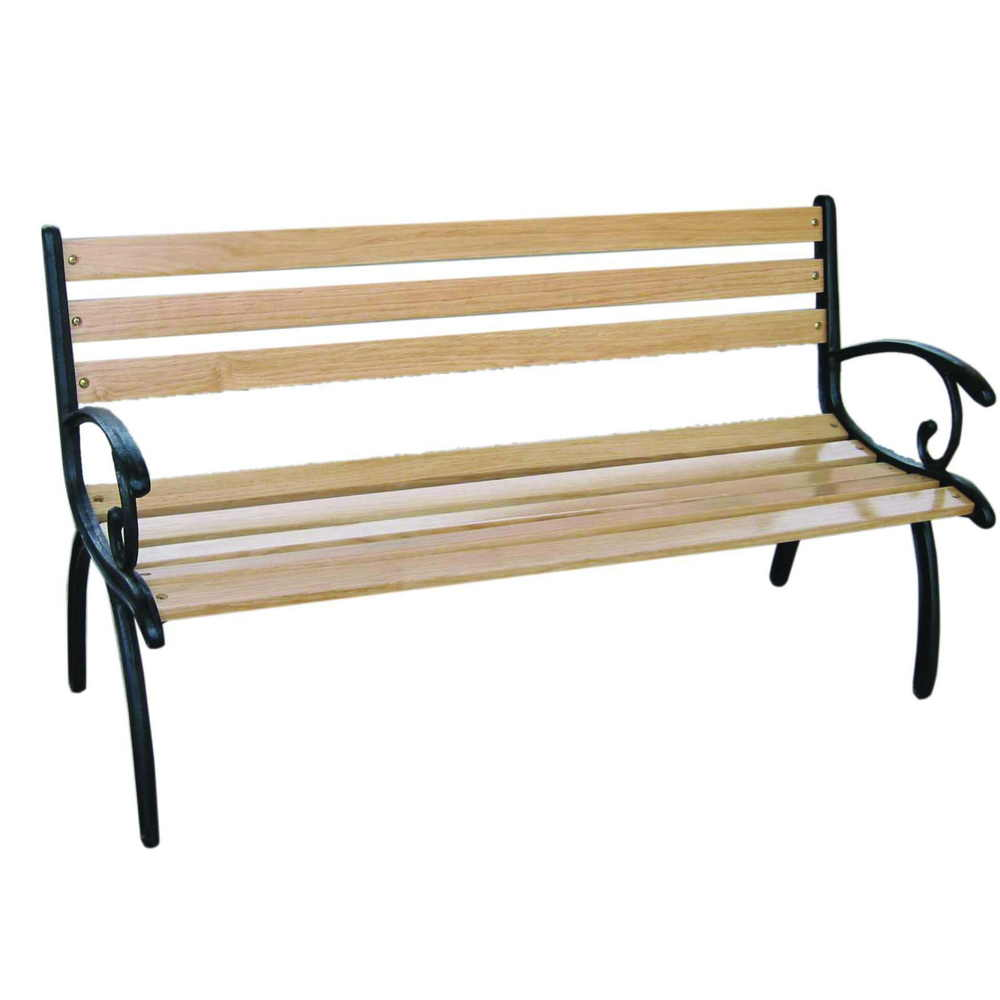 Cast Iron Bench Popular In Outdoor Place