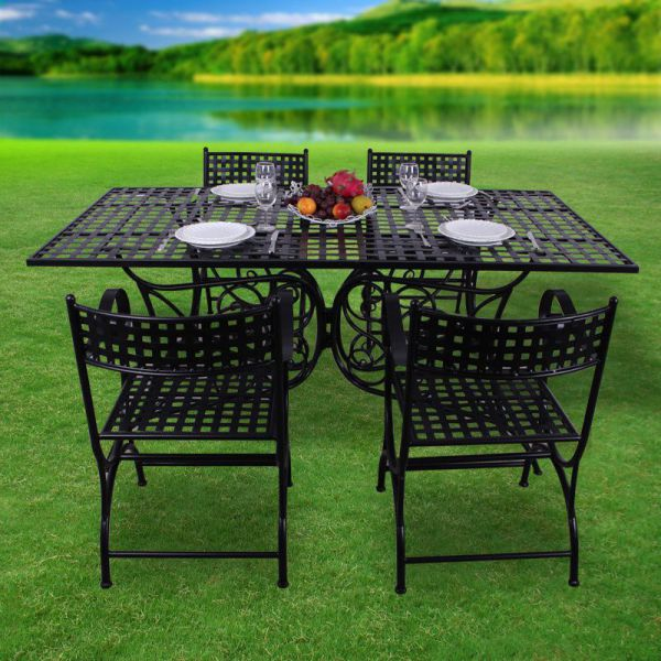 How To Maintain Iron Outdoor Furniture