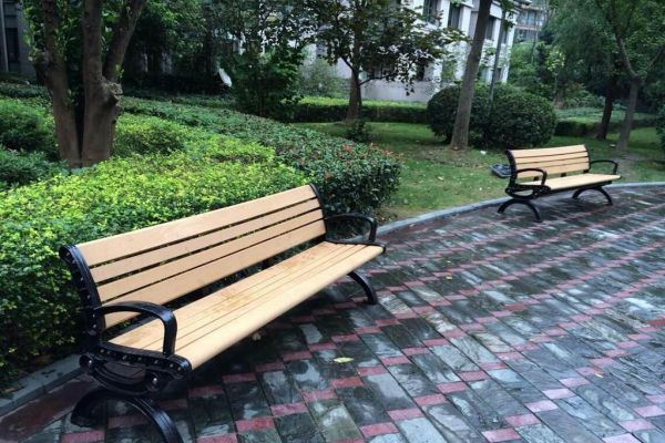 The Charm Of Garden Bench