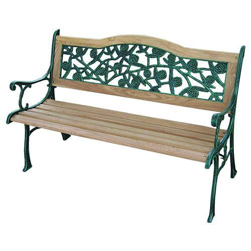 Cast Iron Curved Benches with 2 Seats