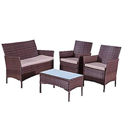 Cheap Steel Rattan Sofa Set For Sale Best Rattan Sofa Manufacturer