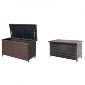 GAE3376 Steel Rattan Cushion Box