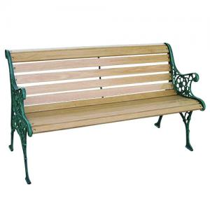 Cast Iron Straight Benches with 2 Seats