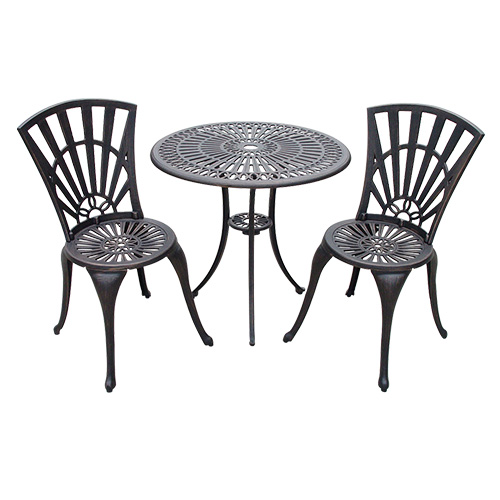 Cast Aluminum Bistro Sets for Outdoors