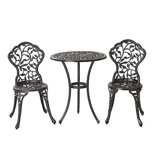 Wrought Iron Bistro Sets for Outdoors
